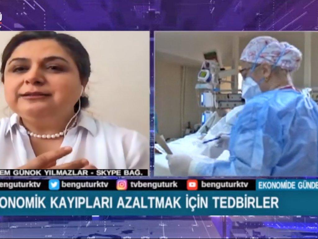 Bengü Türk Televizyonundayız.